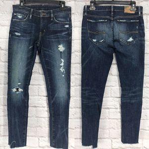 Denim & Supply Distressed Dark Skinny Jeans SAMPLE